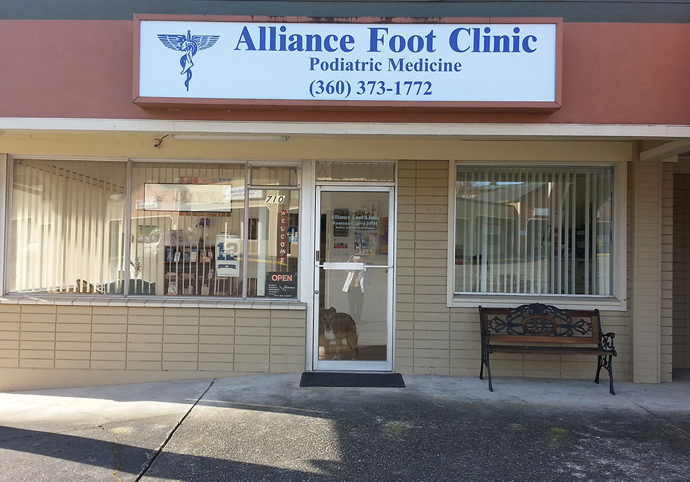 Alliance Foot Clinic building frontAlliance Foot Clinic Products